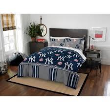 New York Yankees Queen Bed In Bag Set Walmart Com Walmart Com