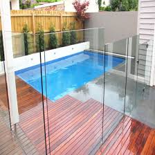 China 12mm Clear Tempered Glass For Swimming Pool Safety Fence China Tempered Glass Fence Tempered Glass Railing