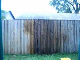 Cleaning A Wood Fence With Oxiclean Wood Fence Staining Wood Fence Wood