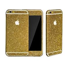Gold Glitter Sticker Skin Iphone 6 Iphone 6 Plus Iphone 5 5s Sold By Luxurious Bling On Storenvy