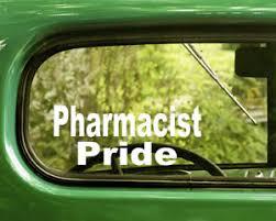 2 Pharmacist Pride Decals Sticker For Car Window Bumper Laptop Jeep Rv Truck Ebay
