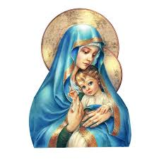 1pcs Kind And Gentle Virgin Mary Toy Sticker For Laptop Car Bedroom Suitcase Cartoon Anime Fashion Stickers Decal Stickers Aliexpress