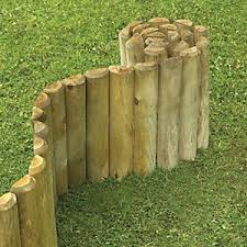 Wickes Half Log Timber Border Edging Roll 150 X 1800 Mm Wickes Co Uk