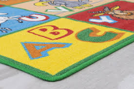 Kids Abc Rugs For Playroom 5x7 Boys Girls Nursery Room Decor Non Skid Ebay