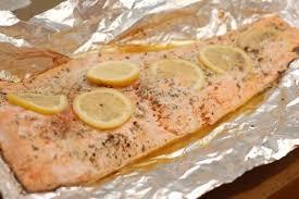 foil wrapped salmon grilled salmon recipe