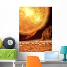 Red Giant Space Astronomy Wall Decal Wallmonkeys Com