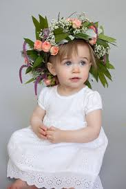 diy crown is a must for your flower girl