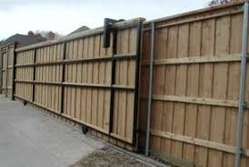 Driveway Gate Company A Better Fence Company Auto Driveway Gates