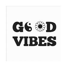 Good Vibes Daisy Yin Yang Vinyl Decal Sold By Vicious Vinyl On Storenvy