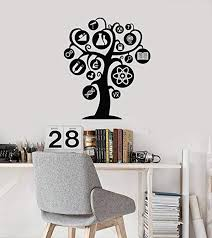 Amazon Com Knowledge Tree Vinyl Wall Decal Science School Chemistry Physics Stickers Mural And Stick Wall Decals Home Kitchen
