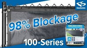 High Blockage Fence Privacy Screen 100 Series 98 By Fencescreen