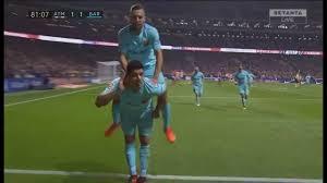 Luis SUAREZ Amazing HEADER vs Atletico MADRID !!! - YouTube