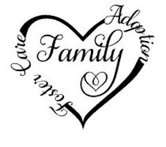 Foster Care Adoption Family Love Car Decal Permanent Vinyl Etsy
