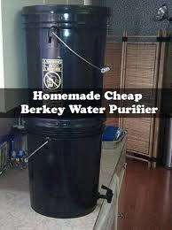 homemade berkey water purifier