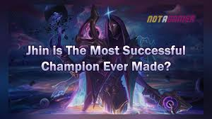 League of Legends: Jhin is One of The Most Successful Champions Ever Made -  Not A Gamer