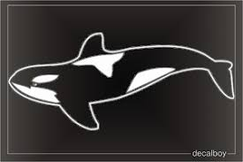 Orca Decals Stickers Decalboy