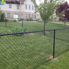 4 Ft Black Chain Link Fence 4 Ft Black Chain Link Fence Suppliers And Manufacturers At Alibaba Com