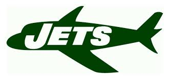 New York Jets Plane Logo Die Cut Vinyl Graphic Decal Sticker Nfl Football