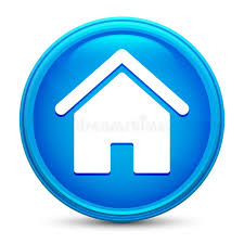 Home Icon Prime Blue Round Button Vector Illustration Design ...