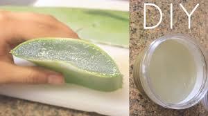 diy aloe vera juice for hair skin and