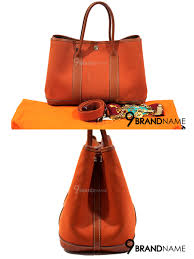 hermes garden party canvas size 30