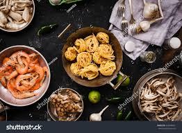 Cooking Ingredients Seafood Pasta Mix ...