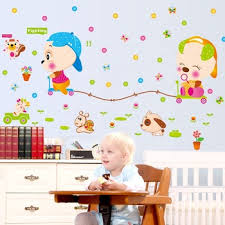 Ay7275 Removable Wall Decal Cartoon Cute Kawaii Animal Wall Stickers For Nursery View Wall Stickers For Nursery Ayyy Product Details From Zhejiang Shenao Technology Co Ltd On Alibaba Com
