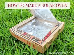 how to make a solar oven mamaguru