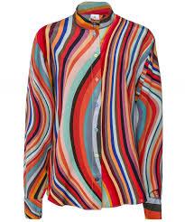 Paul Smith Swirl Print Silk Shirt | Jules B