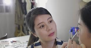 slow movement asian chinese makeup