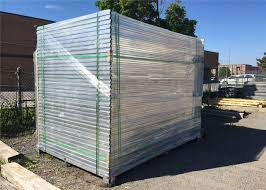 1800mm X 2900mm Hdg Powder Coated Temporary Construction Site Fence Panels Construction Security Fencing