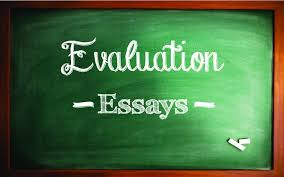 an evaluation paper with sle essays