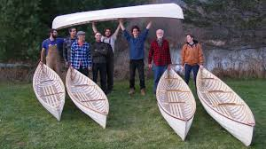 Building Skin-on-Frame Double Paddle Canoes by Hilary Russell - YouTube