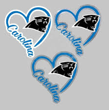 Carolina Panthers Decal Carolina Panthers Decal Panther Nation Panthers