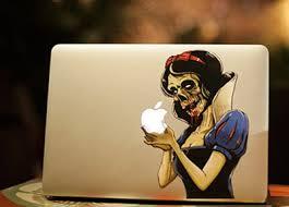Cj472 Skull Style Snow White Logo Laptop Skin Case For Apple Macbook Pro Air 13 Inch Retina Laptop Stickers Case Antique Case 560case For Samsung S5230 Aliexpress