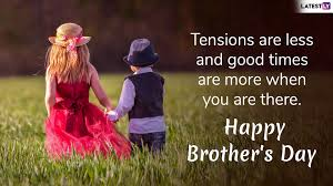 happy national brother s day greetings whatsapp stickers