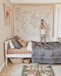 I Absolutely Love This Wall Hanging Map Of The World By Gather Pic By Christine Simplybloom Via Ministylemag Baby Room Decor Kid Room Decor Kids Bedroom