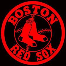 Boston Red Sox Circle Logo Car Decal Vinyl Sticker Whit