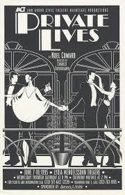 Ann Arbor Civic Theatre Poster: Private Lives