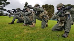 The SAS Female Engagement Team deploys ...