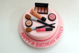 mac makeup cake a cake made to match