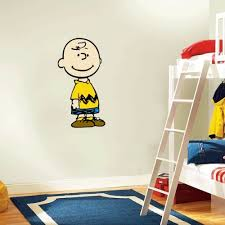 Charlie Brown Snoopy Wall Decal Room Decor 12 X 25