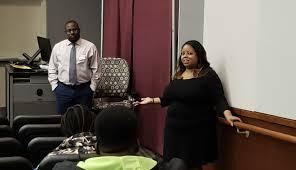 Tasha Stewart, WCPO senior manager for engagement, explains her work to  Winthrop University studen… in 2020 | Social media programs, Winthrop  university, University student