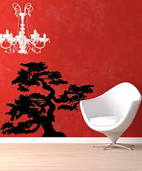 Amazon Com Vinyl Wall Decal Sticker Curvy Bonsai Ac202m Home Kitchen