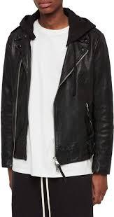 allsaints woodley leather biker jacket