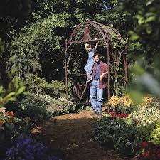 build your own bent sapling arbor the