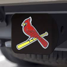 Mlb St Louis Cardinals Hitch Cover Fanmats Sports Licensing Solutions Llc