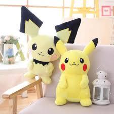 Pikachu Sang Trọng Đồ Chơi Đồ Chơi Nhồi Bông Pichu Nhật Bản Phim Anime Mềm  Pichu Kawaii Búp Bê Cho Bé Búp Bê Cho Bé Sinh Nhật Cho Bé quà Tặng|