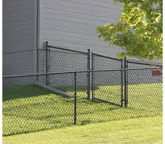 Black Vinyl Chain Link Fence Parts America S Fence Store