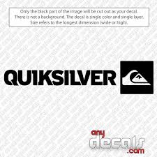 Car Decals Car Stickers Quiksilver Square Surf Car Decal Anydecals Com